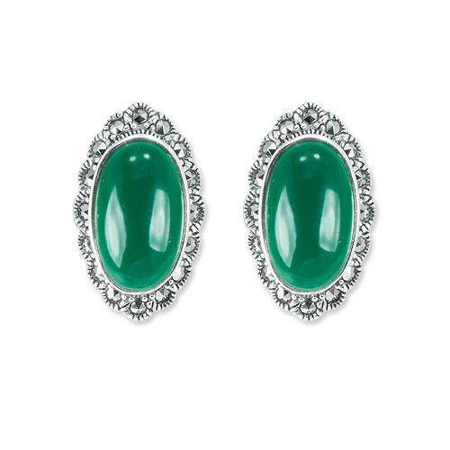 marcasite earring HE1352 1