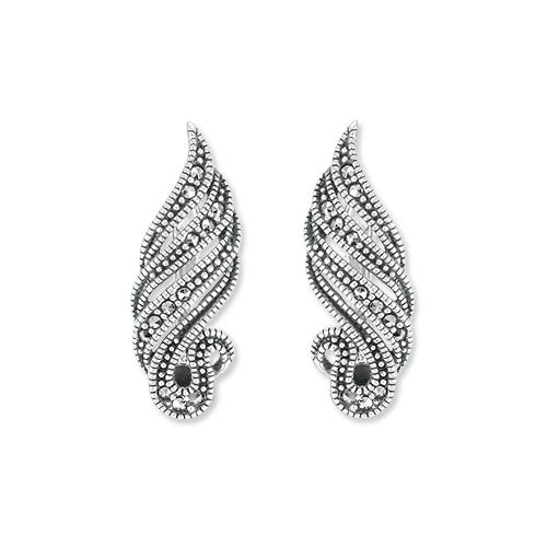 marcasite earring HE1361 1