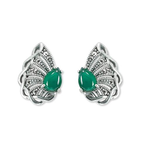 marcasite earring HE1363 1