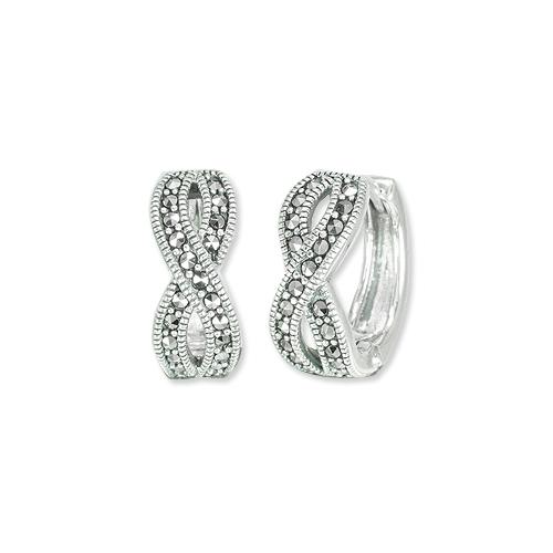 marcasite earring HE1370 1
