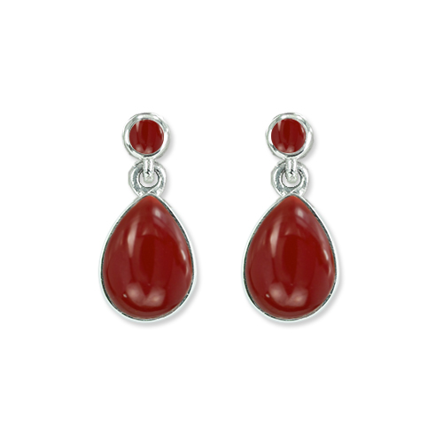 marcasite earring HE1376 O 1
