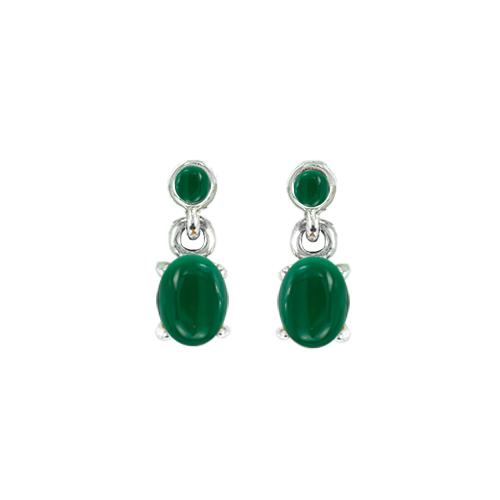 marcasite earring HE1377 O 1