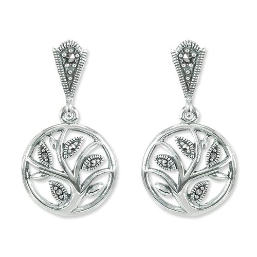 marcasite earring HE1385 1