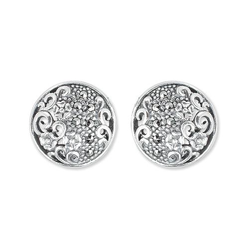 marcasite earring HE1395 1