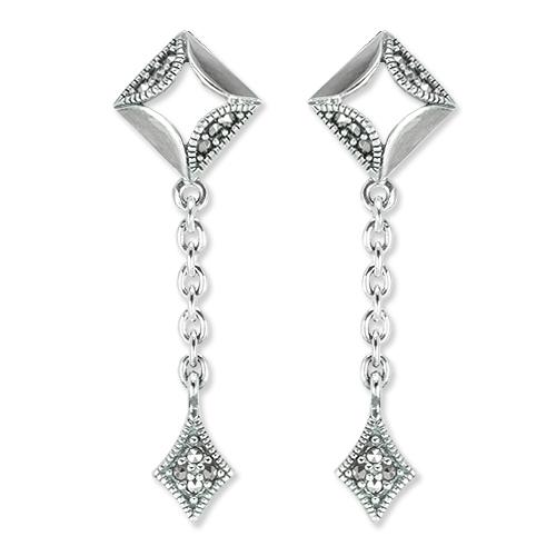 marcasite earring HE1397 1