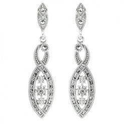 marcasite earring HE1400 1