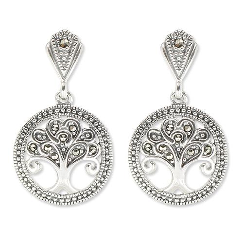 marcasite earring HE1407 1