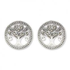 marcasite earring HE1408 1