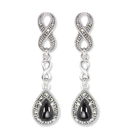 marcasite earring HE1414 1