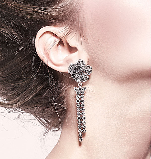 Wholesale Marcasite Earring