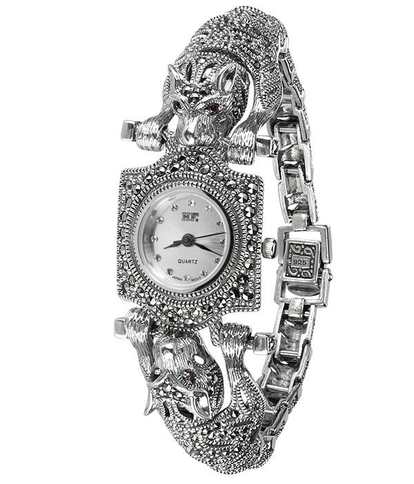 Hottest 10 Marcasite Watches-HW008 1
