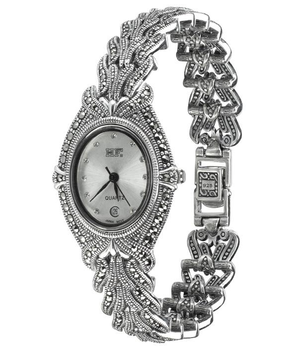 Hottest 10 Marcasite Watches-HW104 1