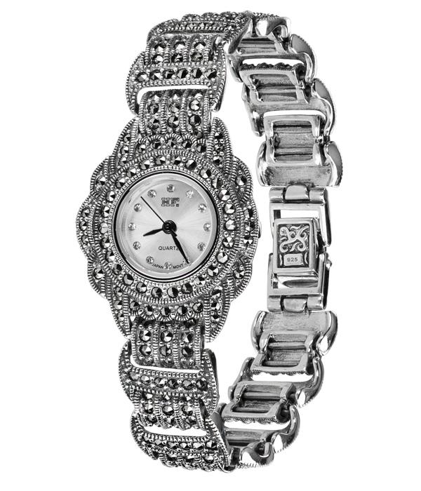 Hottest 10 Marcasite Watches HW002