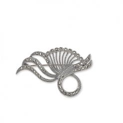 marcasite brooch HB0032 1
