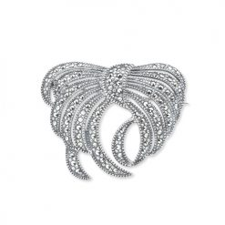marcasite brooch HB0046 1