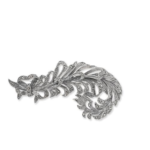 marcasite brooch HB0098 1