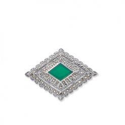 marcasite brooch HB0106 1