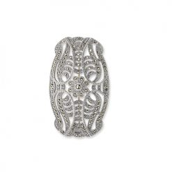 marcasite brooch HB0109 1