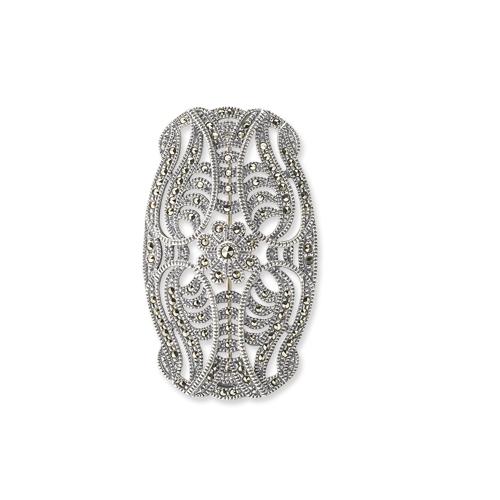 marcasite brooch HB0109 1