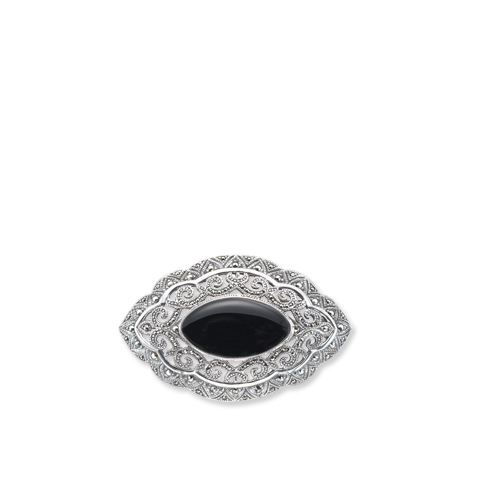 marcasite brooch HB0117 S 1