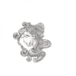 marcasite brooch HB0168 1