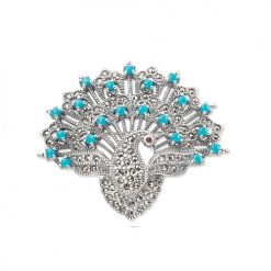 marcasite brooch HB0182 1