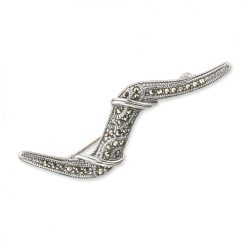 marcasite brooch HB0215 1