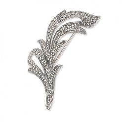 marcasite brooch HB0222 1