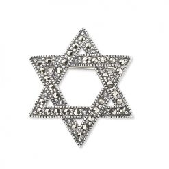 marcasite brooch HB0247 1