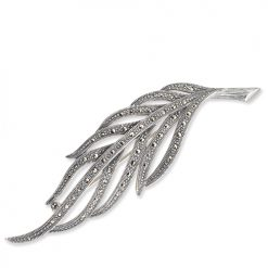 marcasite brooch HB0450 1