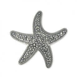 marcasite brooch HB0460 1