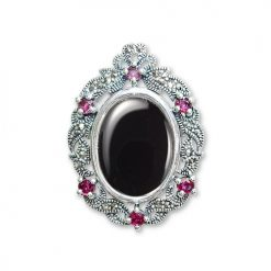 marcasite brooch HB0471 1