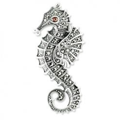 marcasite brooch HB0495 4