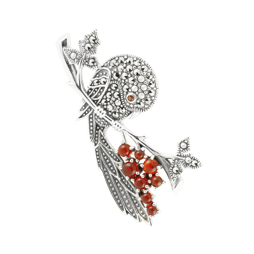 marcasite brooch HB0497 1