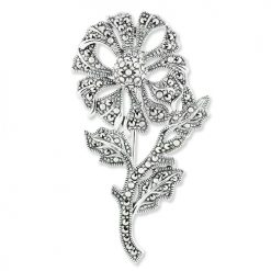 marcasite brooch HB0502 1