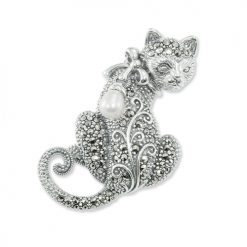 marcasite brooch HB0544 1