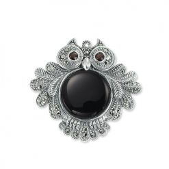 marcasite brooch HB0546 1
