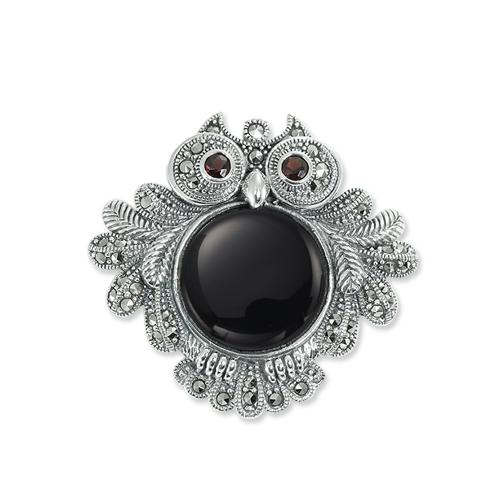marcasite brooch HB0546 1