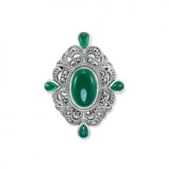 marcasite brooch HB0555 1
