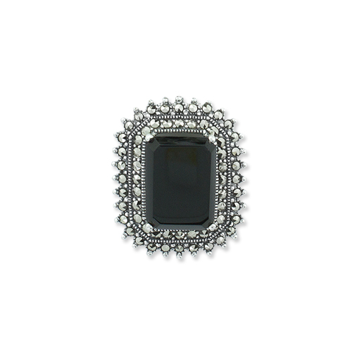 marcasite brooch HB0557 1