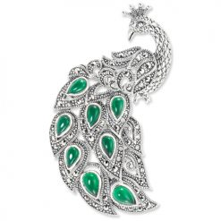 marcasite brooch HB0566 1