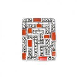 marcasite brooch HB0569 1