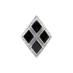 marcasite brooch HB0586 1