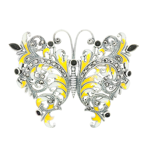 marcasite brooch HB0594 ON 1