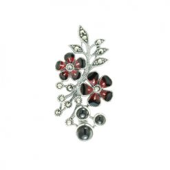 marcasite brooch HB0596 ON 1