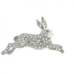 marcasite brooch HB0613 1