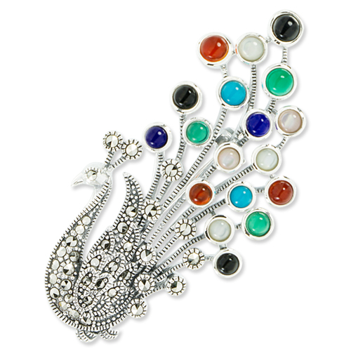 marcasite brooch HB0628 1