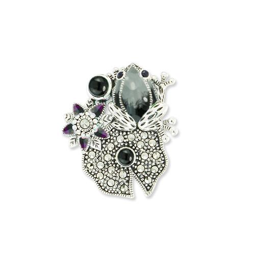marcasite brooch HB0630 ON 1