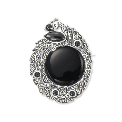marcasite brooch HB0653 1