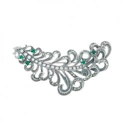 marcasite brooch HB0670 1